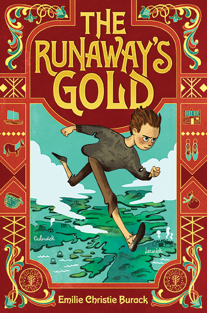 Cover of The Runaway's Gold by Emilie Christie Burack